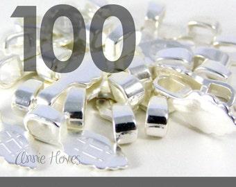 GENUINE Aanraku Bails 100 Small Silver Plated Bails. Genuine Aanraku.