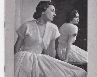 ON SALE Vintage 1940s - Paton's Knitting Pattern No 341 For Women/Ladies - Original Pattern