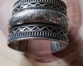 Tribal Cuff Bracelet!