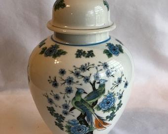 Vintage Amari Ware Japanese Ginger Jar
