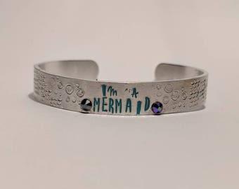I'm A Mermaid bracelet