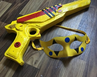 Party Poison Ray Gun and Mask