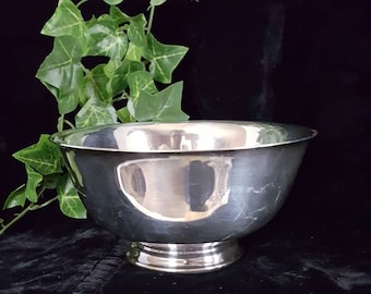 Paul Revere Silverplated Bowl by Reed & Barton©