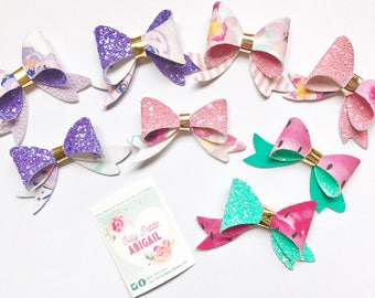 Double sided bow