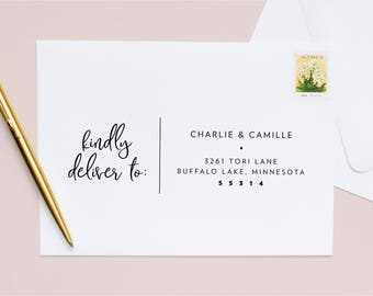 Guest + Return Address Printing | Simple + Lovely