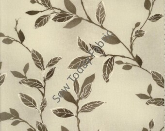 Felicity Branches & Leaves Gray - Wilmington Prints Q1810-42376-991 (sold by the 1/2 yard)
