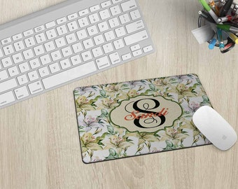 Personalized Mouse Pad, Mouse mat, Mousepad, Custom Mouse Pad, Monogram Mouse pad, Pad, Monogram Mousepad, Mouse Pad, Computer mouse pad #10