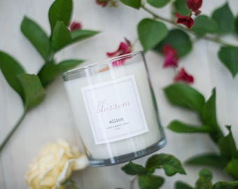 blossom ellion wood wick Candle