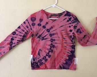 Tie-dye shirt- lady's small