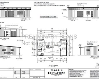 2 bed shipping container home 680 m2 or 731 sq foot shipping container blueprint plans for sale 3 containers combined floor plans 840sq foot 78m2 2 bed malvernweather Image collections