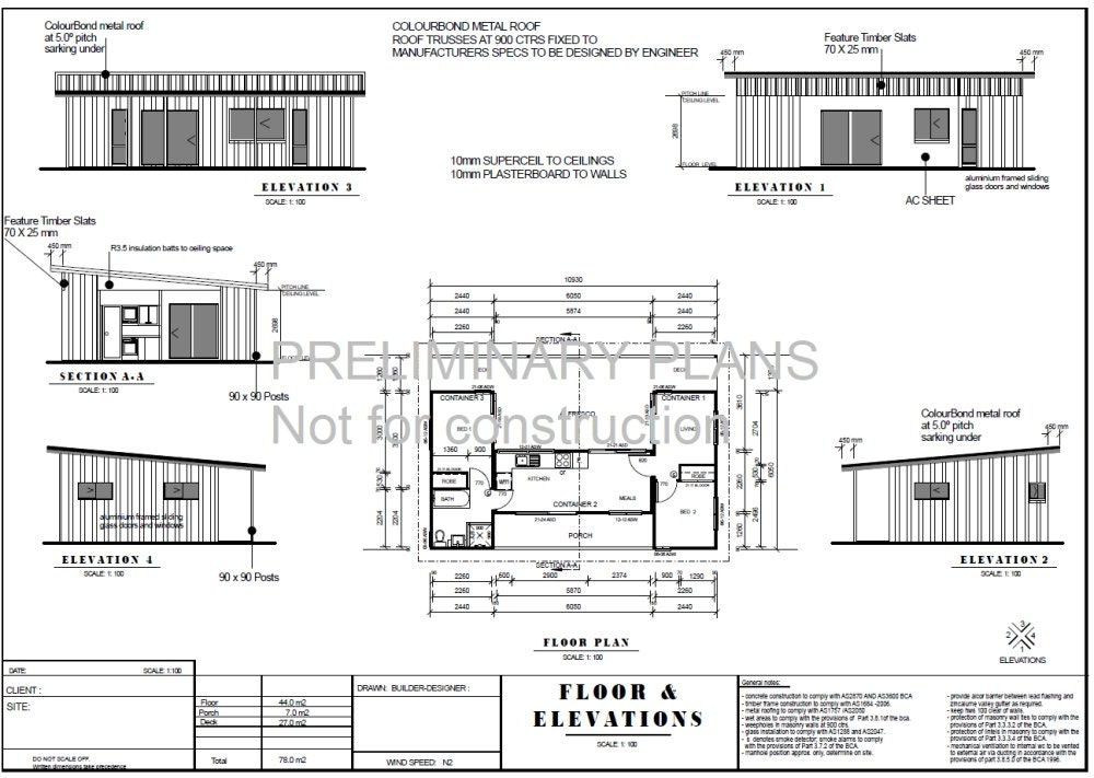 Shipping container blueprint plans for sale 3 containers combined shipping container blueprint plans for sale 3 containers combined floor plans 840sq foot 78m2 2 bed malvernweather Image collections