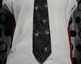 Spiderweb Necktie