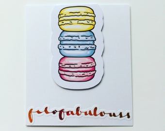 Macaroons Magnetic Book Mark - Page Marker