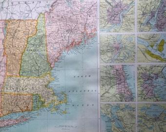 Vintage st louis map Etsy