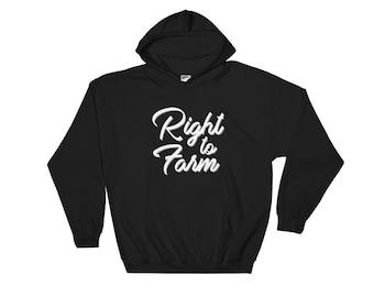 Right to Farm Hoody