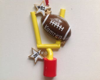 Personalized Football Sports  Olympics, Christmas Ornament - Coach Team Gift