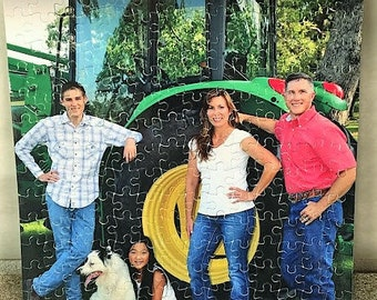 252 Pc Custom Puzzle, Create your own puzzle, Personalized Puzzle, Photo Puzzle, Puzzle Gift, Jigsaw Puzzle, Cardboard Puzzle