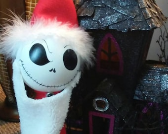 Nightmare before Christmas tree topper, Jack skellington tree topper, nightmare before Christmas Halloween decoration 15inch
