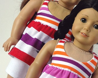 18 Inch Doll Clothes -- Halter Top and Shorts -- 2 Piece Outfit (1-29)