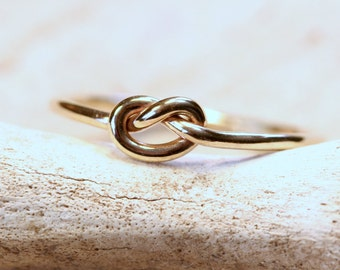 14k Gold Filled Friendship Knot Ring
