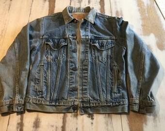 1980's Levi Denim Jacket Men's size 38