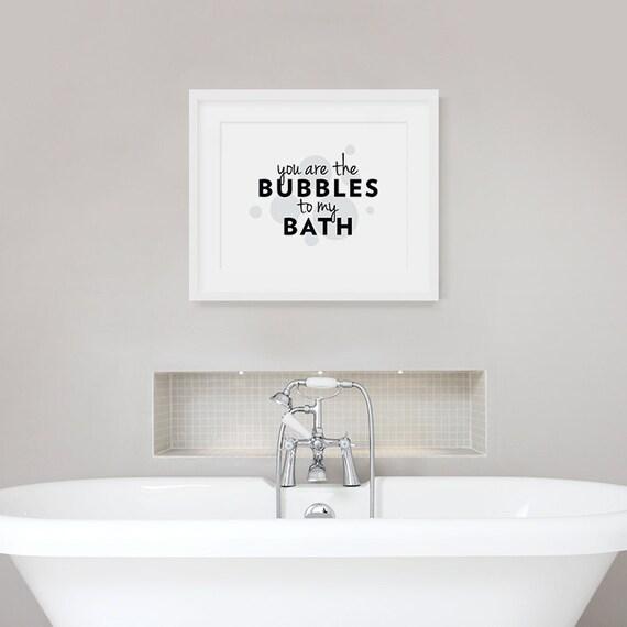 U bent de bubbels aan mijn Bad-Bad offerte badkamer muur