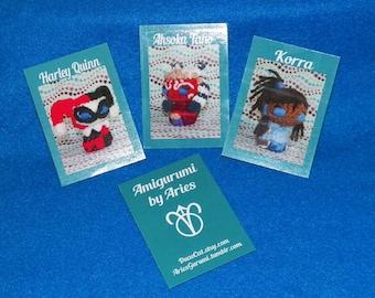 Amigurumi Trading Card MiniPrint
