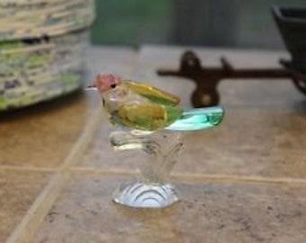 Collectible Crystal / glass bird