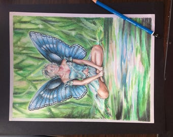 Original fairy drawing