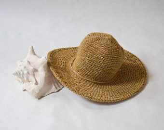 Amber Cotton Sun Hat, Beach Hats, Summer Hats, Sun Hats, Womens  Hats, Wide brim Hat, Vacation and Travel, Mothers Day Gifts