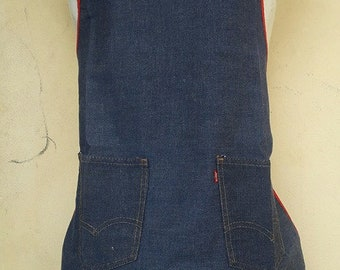 Vintage Levi's apron free shipping