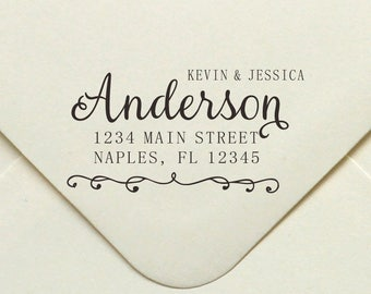 Personalized Address Stamp, Self Ink Return Address Stamp, Custom Address Stamp