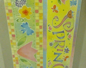 Colorbok Spring Banner Sticker Sheet