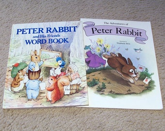 Easter Books, 2 Peter Rabbit Books for Young Children
