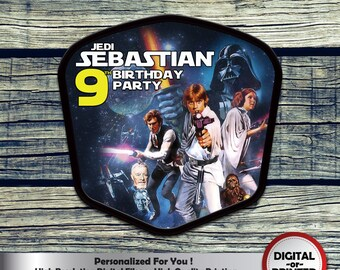 Star Wars Centerpiece, Printable Centerpiece for Birthday Party Decoration. Digital file or Printed