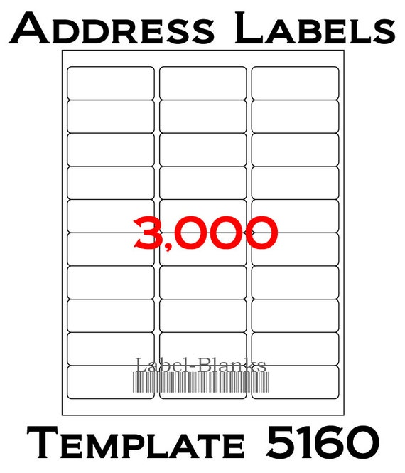 3000 Laser Ink Jet Labels 100 Sheets 1 X 2 58 Avery
