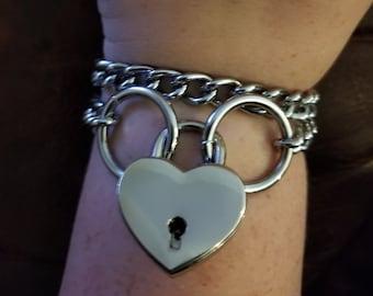 Locked Chain Bracelet