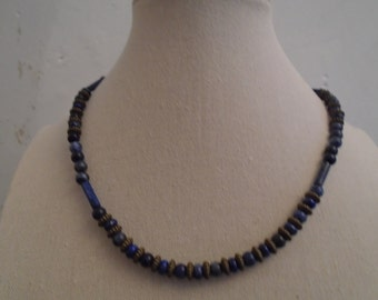 Sodalite Necklace, Blue Stone Necklace, Blue Sodalite Necklace, Necklace