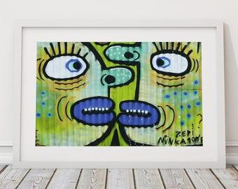 Street Art Photography, South American Street Art, Graffiti Art, Urban Landscape Photography, Street Art, Contemporary Wall Art, Urban Art