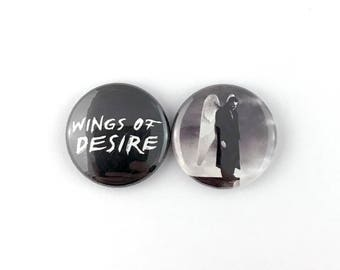 "Wings of Desire - 1"" Button Pin Set"