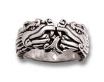 Aztec Dragon Ring