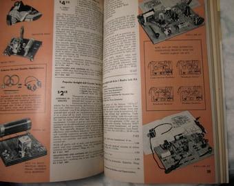 Vintage 1957 Allied Radio Electronics retro Catalog # 160 Chicago mid century book industrial decor coffee table book