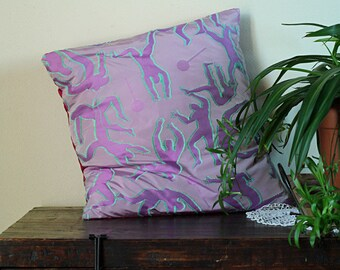 Lillac jacquard pillow cover 20x20