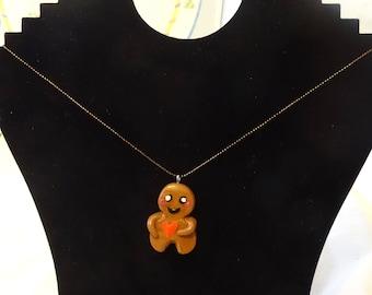 gingerbread pendant
