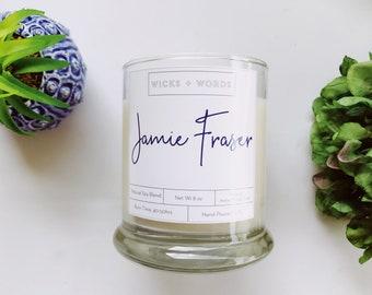 Wicks + Words - Jamie Fraser - Outlander Inspired Natural Soy Candle