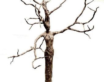 tree goddess print