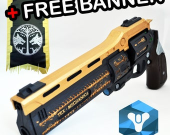 Last Word hand cannon prop
