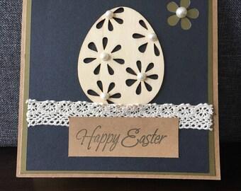 Easter cards , Happy Easter cards, Handmade, egg,flowers