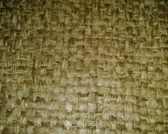 Tan woven wool fabric