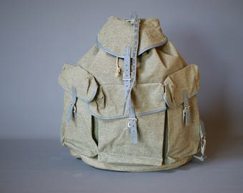 VINTAGE 1950s Swiss Army Backpack, New Old Stock, Swiss Army Rucksack, Swiss Military Backpack, Swiss Army Rucksack, Vintage Backpack